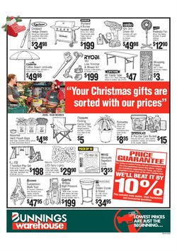 Garden, Tools & Hardware offers in the Bunnings Warehouse catalogue in Swan Hill VIC