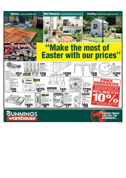 Offers from Bunnings Warehouse in the Brisbane QLD catalogue