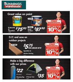 Offers from Bunnings Warehouse in the Adelaide SA catalogue