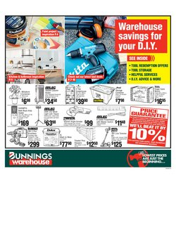 DIY & Garden offers in the Bunnings Warehouse catalogue in Adelaide SA