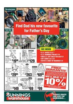 DIY & Garden offers in the Bunnings Warehouse catalogue in Sydney NSW