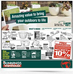 Bunnings Warehouse catalogue in Adelaide SA ( 4 days left )