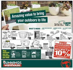 Bunnings Warehouse catalogue in Melbourne VIC ( 4 days left )