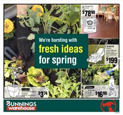 Bunnings Warehouse catalogue ( 10 days left )
