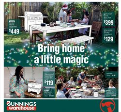 Bunnings Warehouse catalogue ( 18 days left )