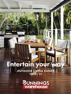 Bunnings Warehouse catalogue ( More than one month )