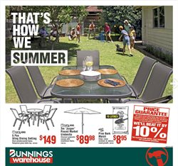 Bunnings Warehouse catalogue ( 1 day ago )
