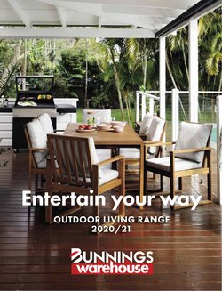 Bunnings Warehouse catalogue ( More than one month)