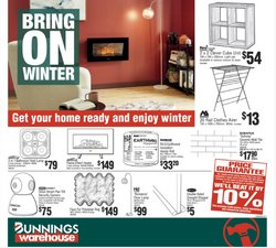 Bunnings Warehouse specials in the Bunnings Warehouse catalogue ( Expired)