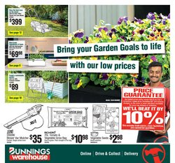 Bunnings Warehouse specials in the Bunnings Warehouse catalogue ( 7 days left)