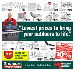 DIY & Garden specials in the Bunnings Warehouse catalogue ( Published today)
