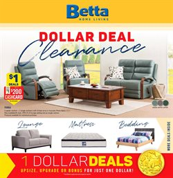 Offers from Betta in the Melbourne VIC catalogue