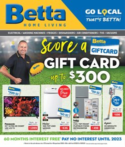 Homeware & Furniture offers in the Betta catalogue in Yeppoon QLD