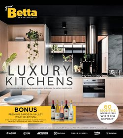Homeware & Furniture offers in the Betta catalogue in Bairnsdale VIC