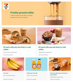 7 Eleven specials in the 7 Eleven catalogue ( 9 days left)