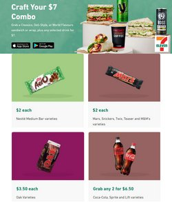 7 Eleven specials in the 7 Eleven catalogue ( 5 days left)