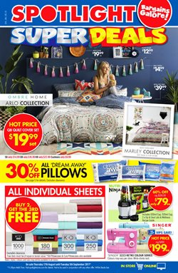 Offers from Spotlight in the Newcastle NSW catalogue
