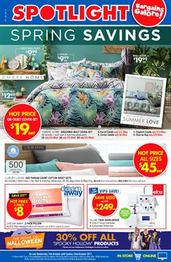Offers from Spotlight in the Mandurah WA catalogue