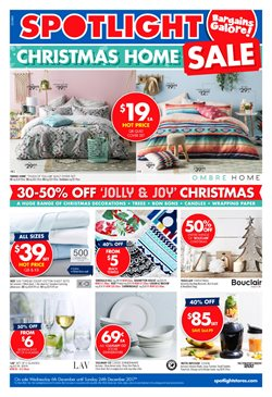 Homeware & Furniture offers in the Spotlight catalogue in Gold Coast QLD