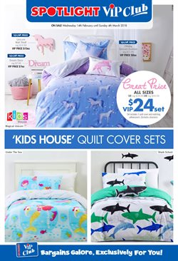 Homeware & Furniture offers in the Spotlight catalogue in Canberra ACT