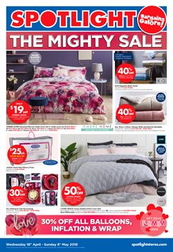 Offers from Spotlight in the Sandstone Point QLD catalogue