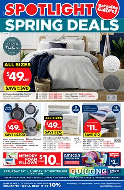 Homeware & Furniture offers in the Spotlight catalogue in Sydney NSW