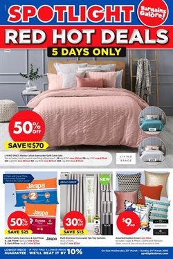 Offers from Spotlight in the Sydney NSW catalogue
