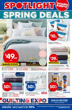Offers from Spotlight in the Brisbane QLD catalogue