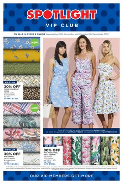 Offers from Spotlight in the Parramatta NSW catalogue