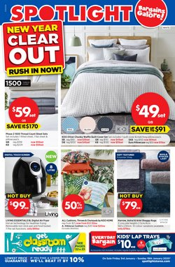 Offers from Spotlight in the Perth WA catalogue