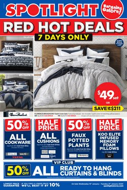 Offers from Spotlight in the Melbourne VIC catalogue
