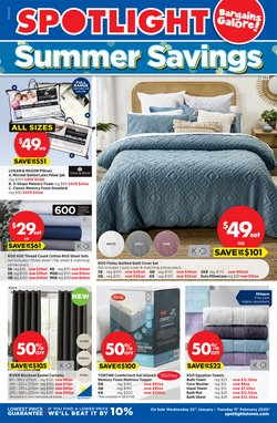 Homeware & Furniture offers in the Spotlight catalogue in Adelaide SA