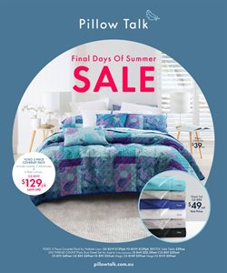 Homeware & Furniture offers in the Pillow Talk catalogue in Bowral NSW