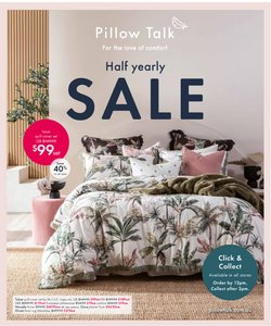 Homeware & Furniture specials in the Pillow Talk catalogue ( 3 days left)