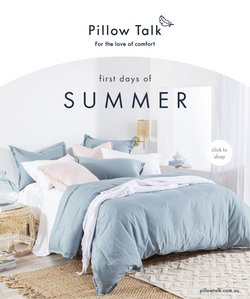 Homeware & Furniture specials in the Pillow Talk catalogue ( 8 days left)