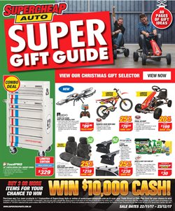 Cars, motorcycles & spares offers in the SuperCheap Auto catalogue in Swan Hill VIC