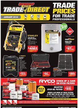 Offers from SuperCheap Auto in the Melbourne VIC catalogue