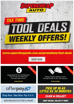 Cars, motorcycles & spares offers in the SuperCheap Auto catalogue in Kingaroy QLD