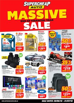Cars, motorcycles & spares offers in the SuperCheap Auto catalogue in Yeppoon QLD