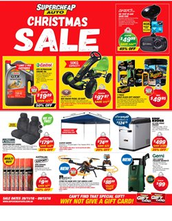 Cars, motorcycles & spares offers in the SuperCheap Auto catalogue in Canberra ACT