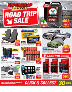 Offers from SuperCheap Auto in the Rockingham WA catalogue