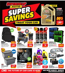 Cars, motorcycles & spares offers in the SuperCheap Auto catalogue in Lithgow NSW