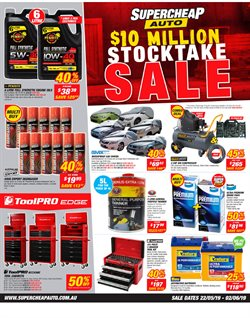 Sales offers in the SuperCheap Auto catalogue in Bairnsdale VIC
