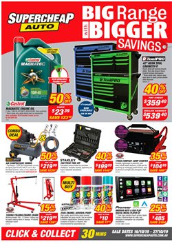 Offers from SuperCheap Auto in the Adelaide SA catalogue