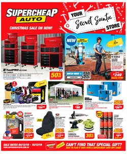 Cars, motorcycles & spares offers in the SuperCheap Auto catalogue in Sydney NSW