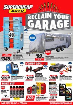 SuperCheap Auto catalogue ( Published today)