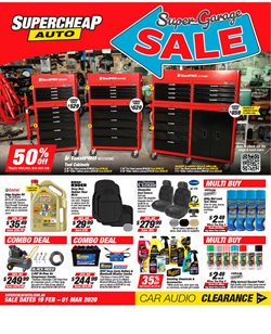 SuperCheap Auto catalogue ( 2 days left )