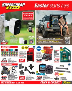 SuperCheap Auto catalogue in Perth WA ( Expires tomorrow )