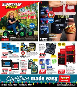 SuperCheap Auto catalogue ( 2 days ago )
