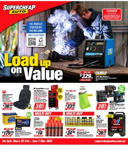SuperCheap Auto catalogue ( 3 days ago )